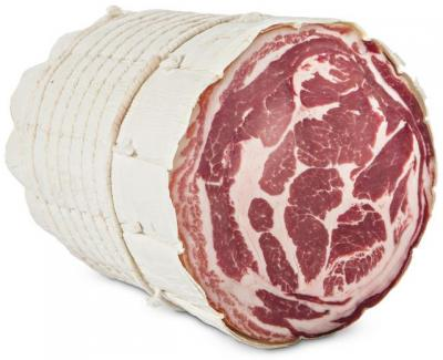 Pancetta Coppata with Cotenna cibo valsana suppliers london
