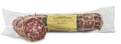 Salami from goose meat vacuum cibo valsana cheese salami suppliers london