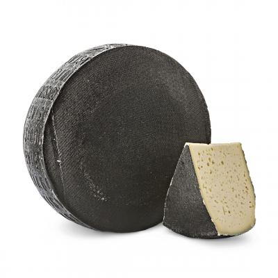 Asiago Pressato DOP - Black crust, Valsana, Cibo, Cheese, Supplier, Importer, Wholesaler, Italian, formaggio