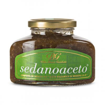Sedanoaceto - Celery and Balsamic compote