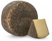 Pecorino black crusted by Valvo Dairy cibo valsana cheese, Valsana, Cibo, Cheese, Supplier, Importer, Wholesaler, Italian, formaggio