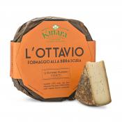 L'Ottavio Kinara - with beer, Valsana, Cibo, Cheese, Supplier, Importer, Wholesaler, Italian, formaggio