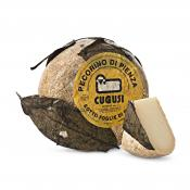 Pecorino di Pienza foglie di noce - walnut leaves by Cugusi, Valsana, Cibo, Cheese, Supplier, Importer, Wholesaler, Italian, formaggio